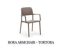 Bora armchair