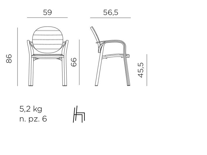 Palma armchair