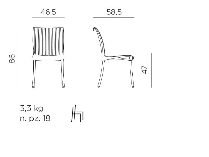 Regina Side chair