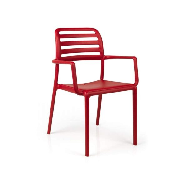 Costa armchair rosso