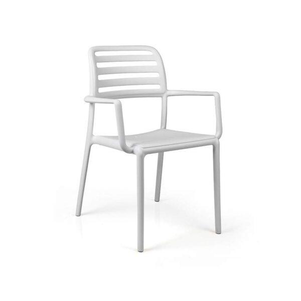 Costa armchair bianco
