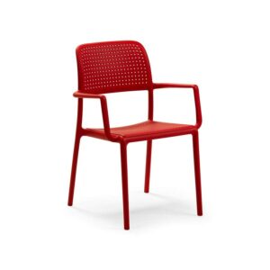 Bora armchair rosso